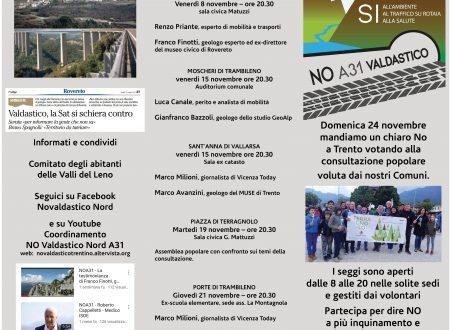 A31-Valdatico Nord e Pasubio: l'ambiente, l'acqua e lo sviluppo del territorio